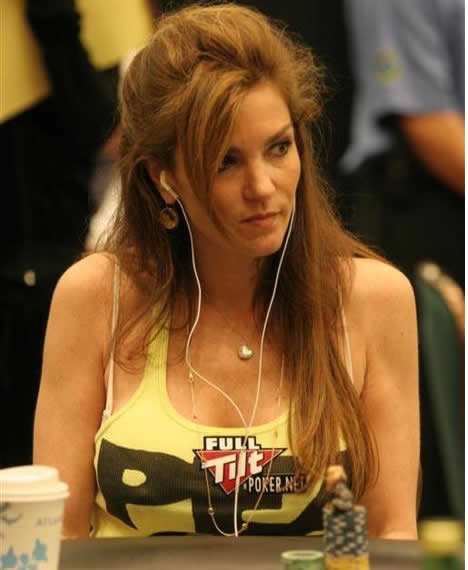 Poker Player Beth Shak