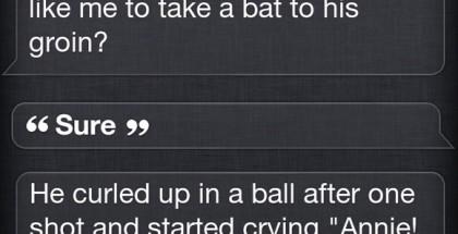 Siri on Lederer