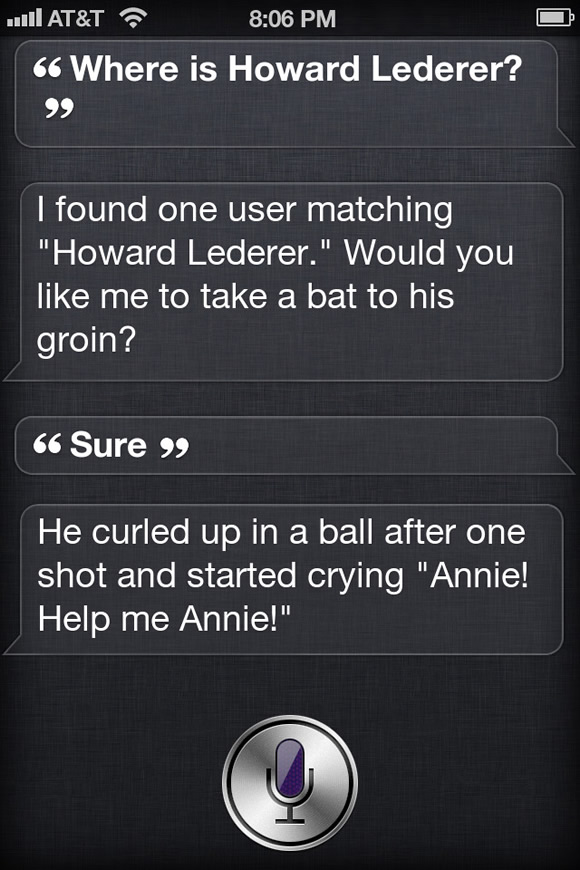 Siri on Lederer