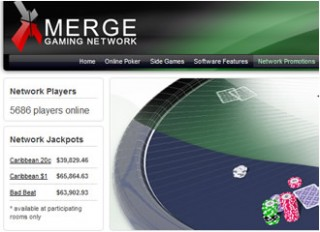 Merge network poker skins poker chips with denominations