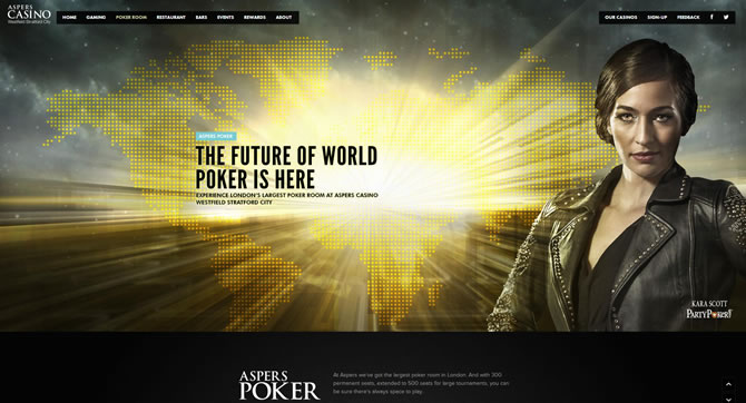 Aspers Poker Room