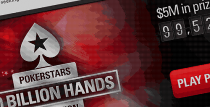 PokerStars 100 Billion Hands