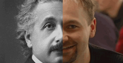 Einstein and Daniel Negreanu