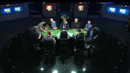 Table at 2015 WSOP