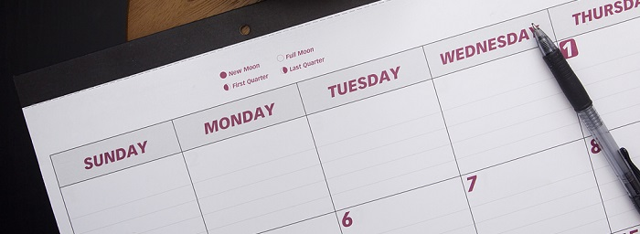 Man Marks Off Complete 2016 WSOP Schedule On Office Calendar
