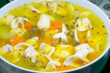 poker table soup