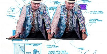 John Hesp Designs Poker Masters Jacket