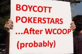 Players Boycotting PokerStars After WCOOP