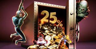 Vegas at Bet365 Casino Reload Bonus
