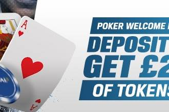 Coral Poker Tournament Token Bonus