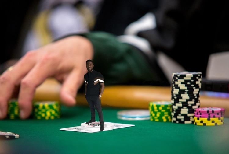 Kevin Hart WSOP Card Protector