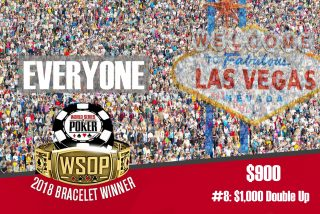 Double Up WSOP Bracelet