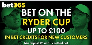 Bet365 Ryder Cup at Bet365