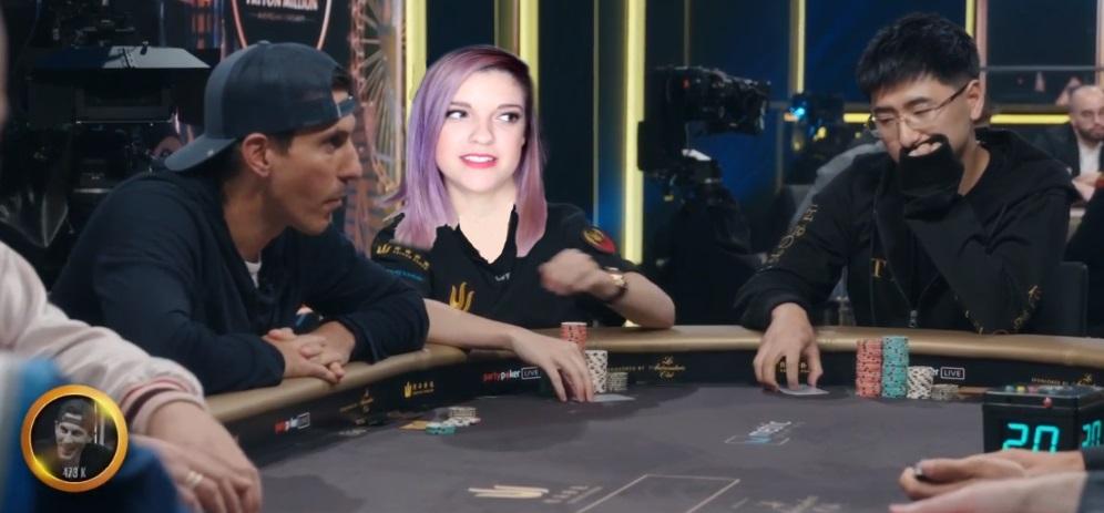 Cat Valdes Triton Poker entry