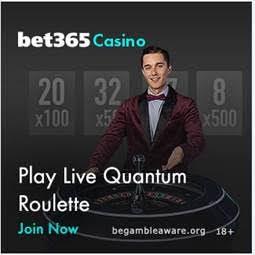 Bet365 Live Quantum Roulette