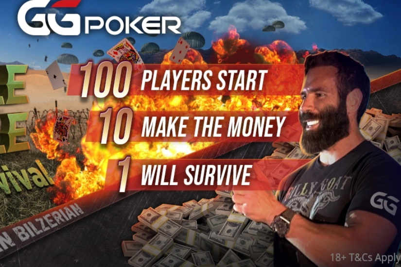 Dan Bilzerian GG Poker Battle Royale Sit N Go Survival