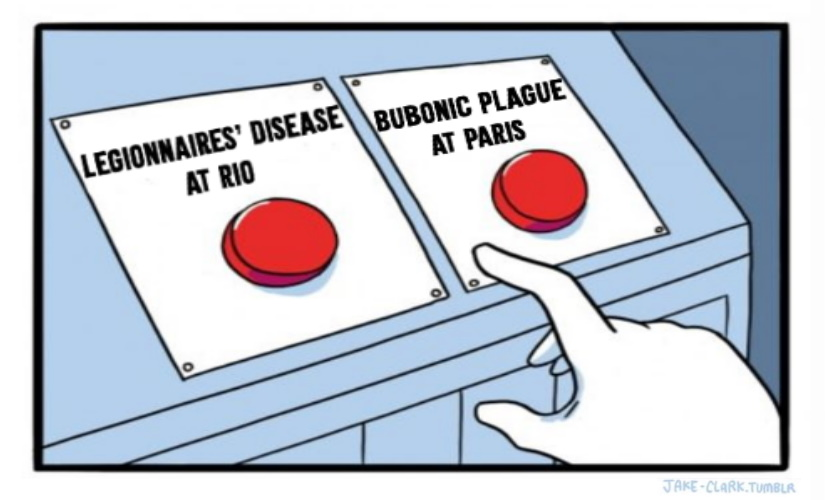 Bobuonic Plague Vs Legionnaires' Disease