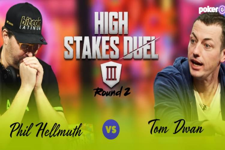 Phil Hellmuth vs Tom Dwan High Stakes Duel