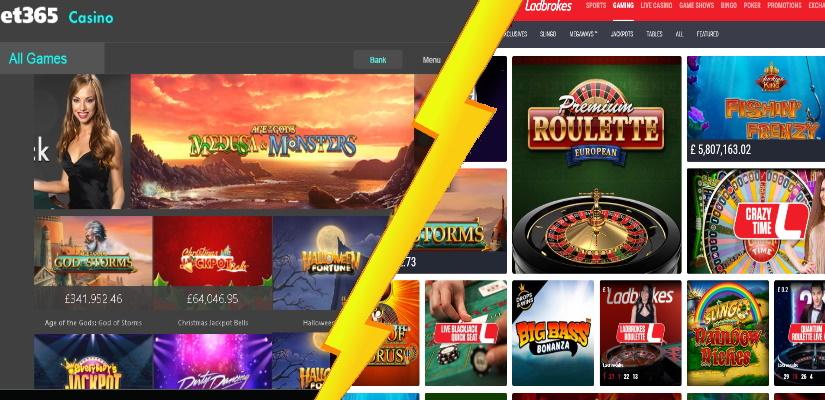 Bet365 Casino Vs Ladbrokes Casino