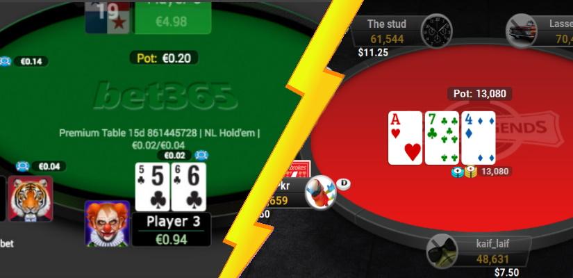 Bet365 Poker Vs Ladbrokes Poker