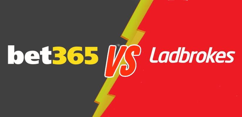 Bet365 vs Ladbrokes