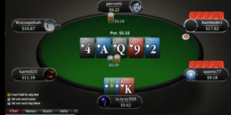 Zoom Poker PLO Position