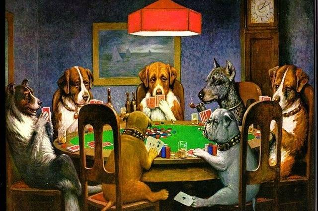 why are poker tables green?