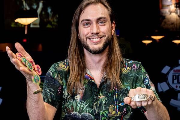David Baker WSOP bracelet